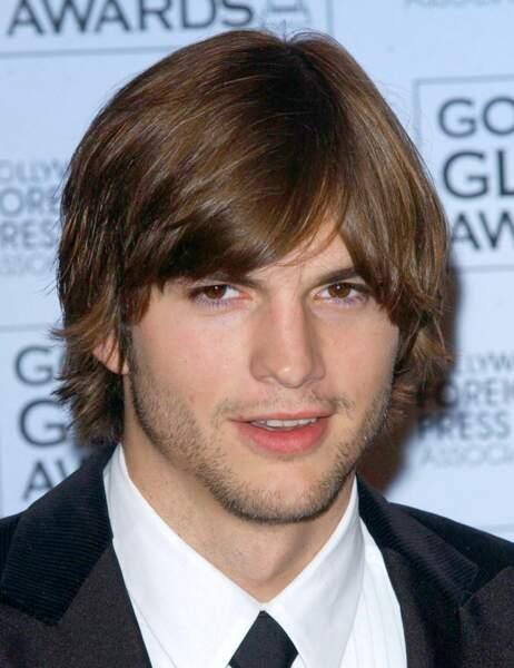 Ashton Kutcher en 2003...