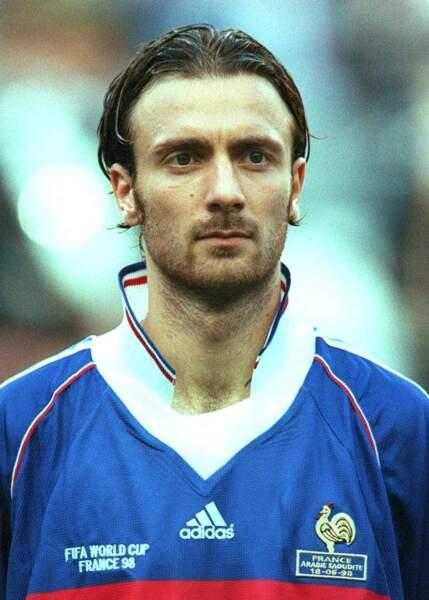Christophe Dugarry en 1998 (26 ans)