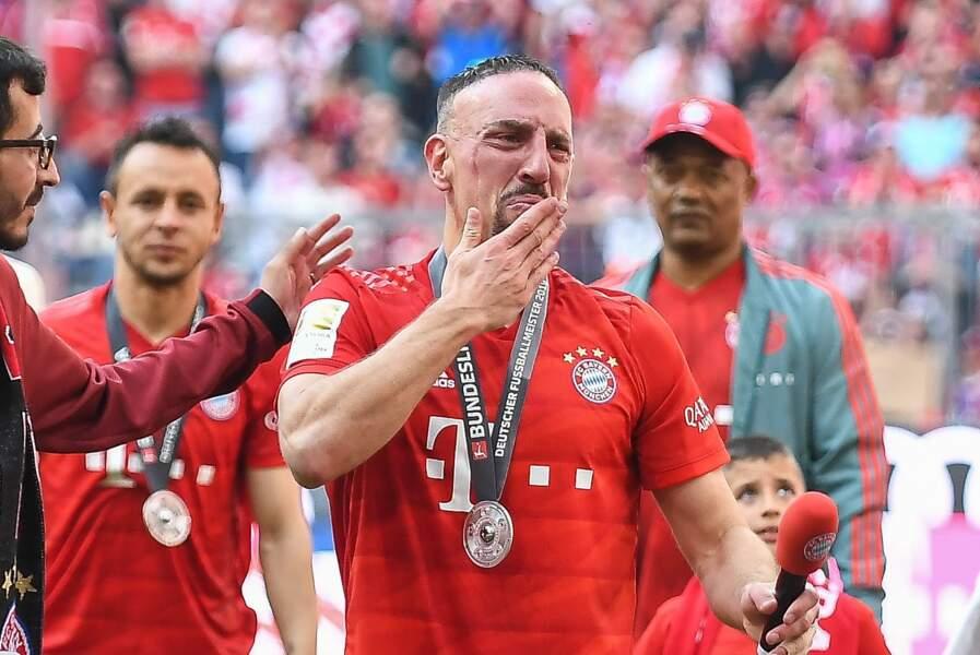 Franck Ribéry fait ses adieux au Bayern de Munich