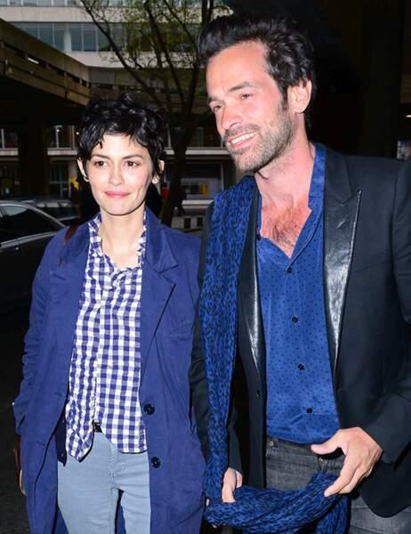 Audrey Tautou et Romain Duris
