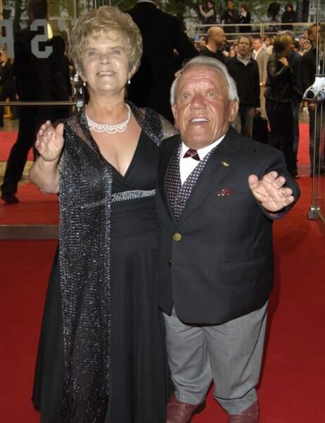 Kenny Baker (ici avec sa femme)