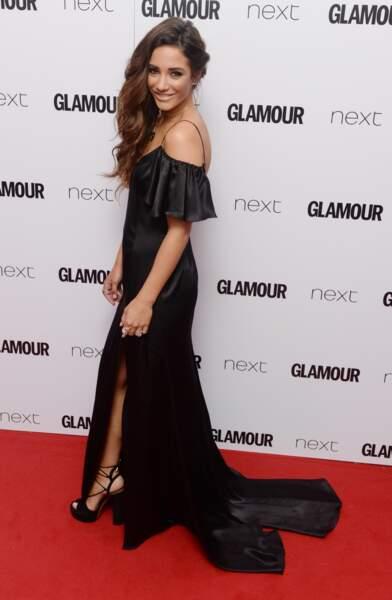Frankie Bridge aux Glamour Awards