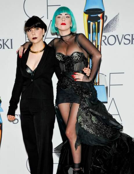 Lady Gaga et sa soeur Natali