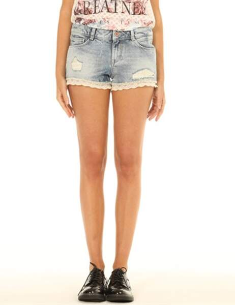 Short en jean Pimkie : 25,99€