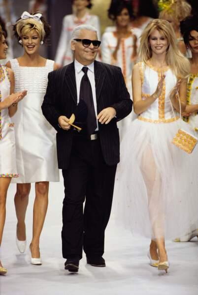 Avant-après ces stars qui ont perdu du poids - Karl Lagerfeld avant