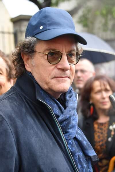 Francis Cabrel aux obsèques de Dick Rivers à Paris