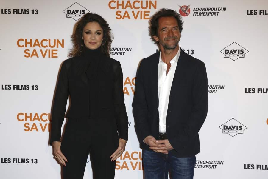Avant-première du film Chacun sa vie : Nadia Farès et Stéphane De Groodt