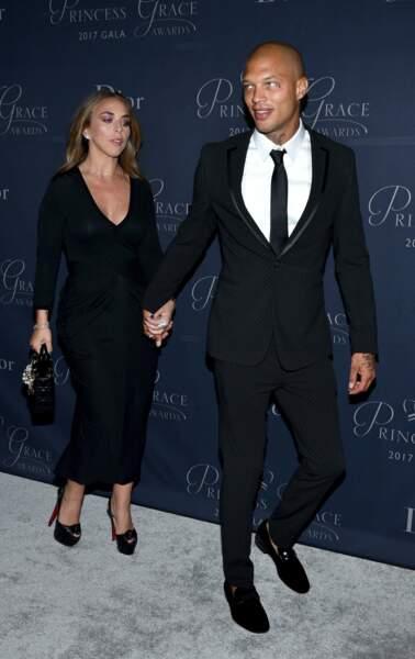 Princess Grace Awards : Chloe Green et Jeremy Meeks