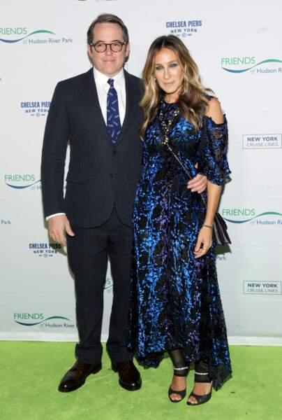 Ces stars parents de jumeaux : Sarah Jessica Parker et Matthew Broderick