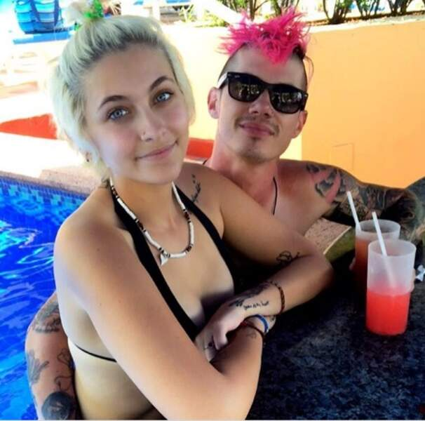 Paris Jackson et Michael Snoddy