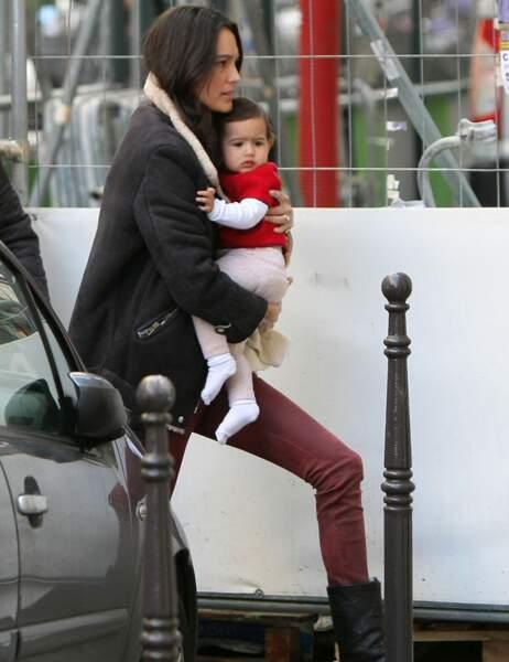 Emma Heming avec sa fille Mabel Ray