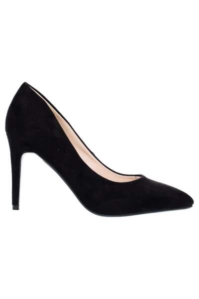 Escarpins noirs, Tissaia chez E.Leclerc, 12,95€