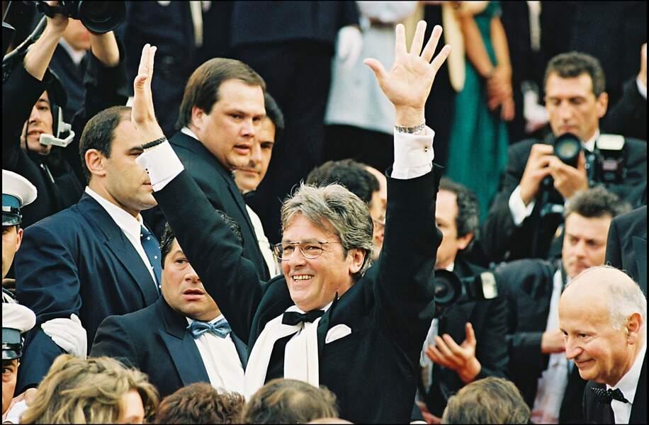 Montée des marches le 7 mai 1992