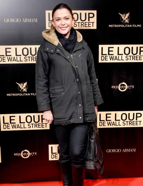 Sandrine Quétier aussi a sorti ses habits de lumière