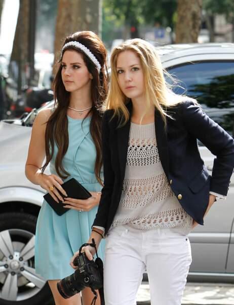 Lana Del Rey et sa soeur Carolyn