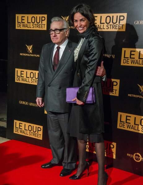 Martin Scorsese et Inés Sastre