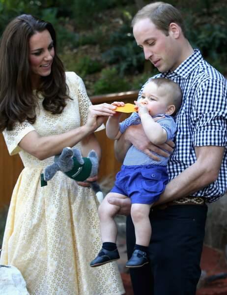 Le petit prince a rapidement mis...
