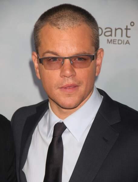 Matt Damon en décembre 2012