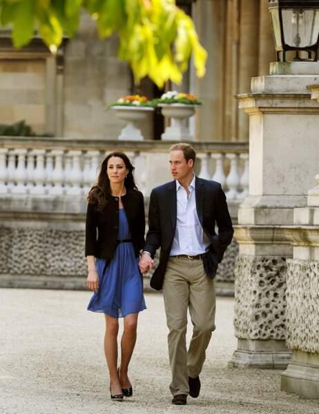 Au lendemain de leur mariage, Kate et William s'envolent pour leur lune de miel