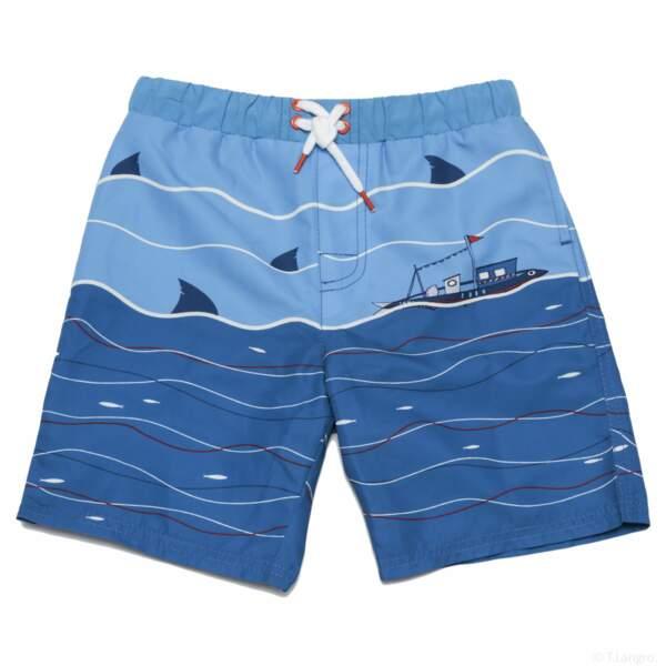 Short de bain bateaux. 17,99 € (du 2/3 ans au 10/11 ans), Sergent Major