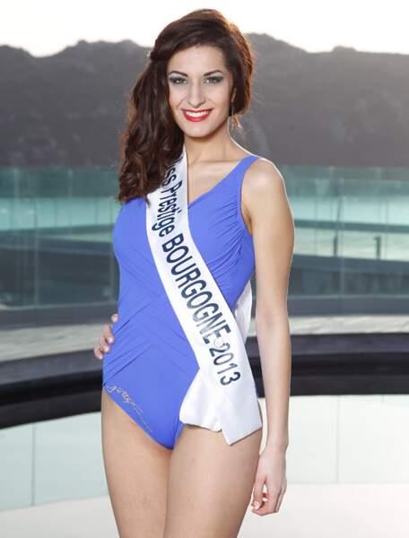 Sandra SALAZAR, Miss Prestige Bourgogne