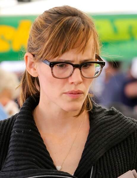 Jennifer Garner au marché