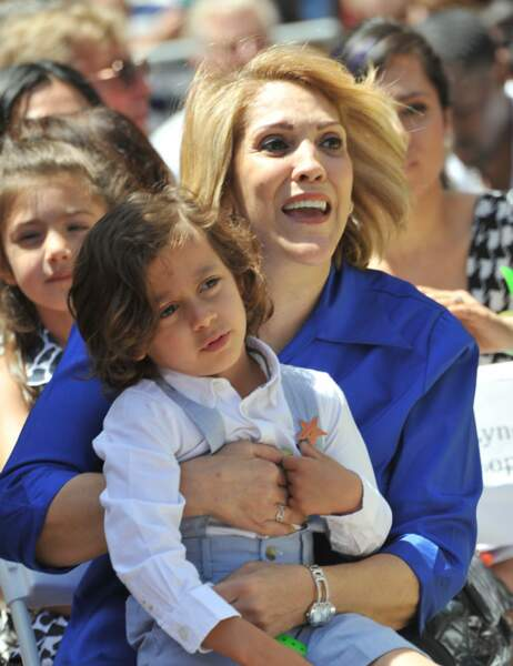 La maman de Jennifer Lopez, Guadalupe et son petit-fils Max