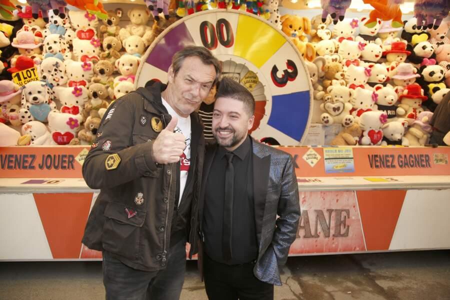 Jean-Luc Reichmann et Chris Marques