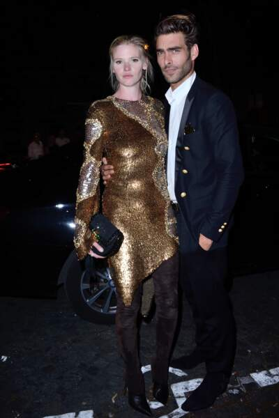 Dîner de la Fondation Vogue - Lara Stone et Jon Kortajarena