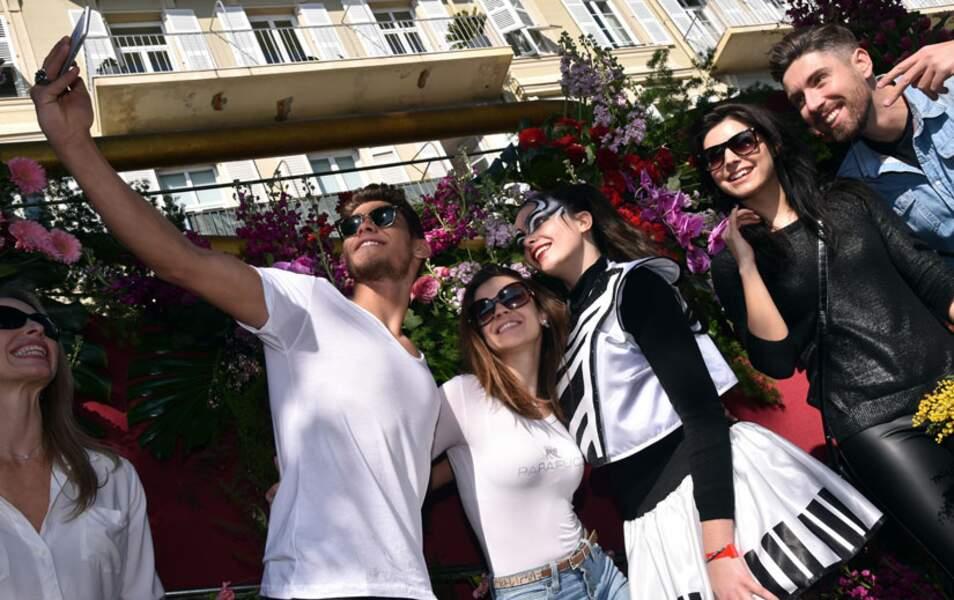 Et un selfie pour Rayane et Denitsa