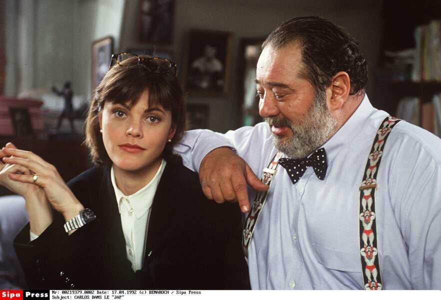 Alexandra Kazan dans les années 90