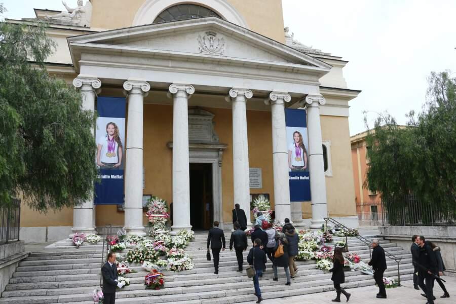 Début de la messe à Saint Jean-Baptiste le Vœu