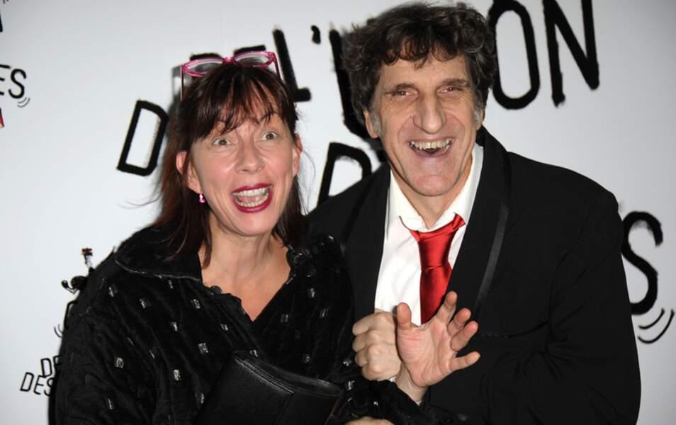 Corinne et Gilles Benizio alias Shirley et Dino