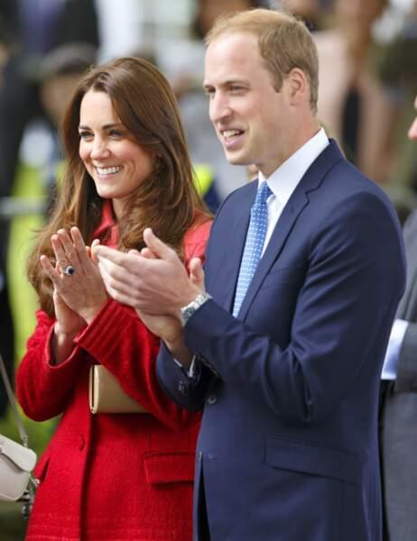 Malgré le scandale qui la touche actuellement, Kate est toujours d'humeur joviale