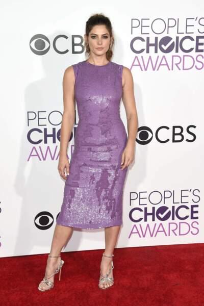 People's Choice Awards 2017 : Ashley Greene en Jeffrey Dodd (bof...)