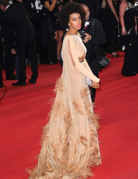 Solange Knowles est très chic