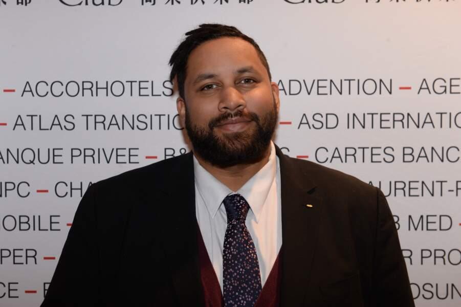 Kevin Razy au Pavillon Gabriel à Paris le 8 mars 2019