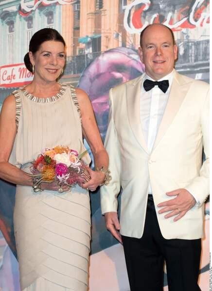 Le prince Albert II de Monaco et la princesse Caroline de Hanovre