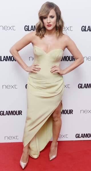 Caroline Flack aux Glamour Awards
