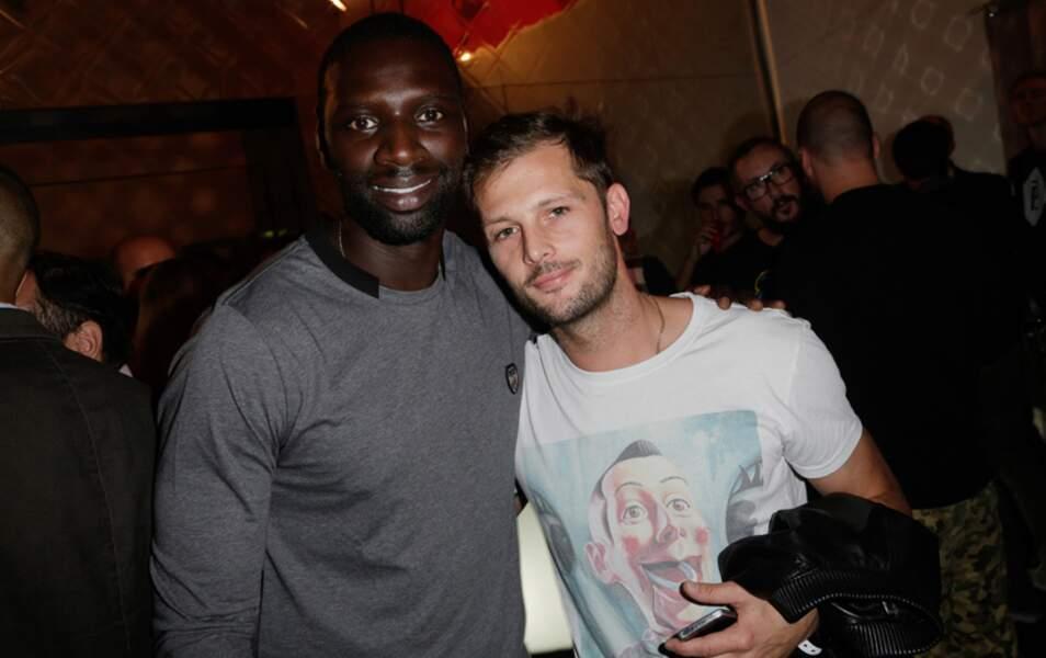 Omar était heureux de retrouver Nicolas Duvauchelle