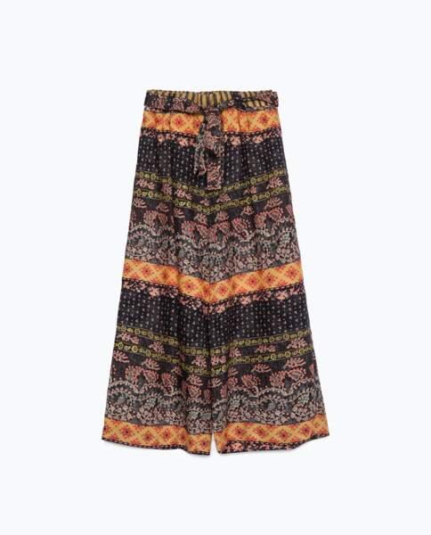 Jupe culotte Zara - 29,95 €
