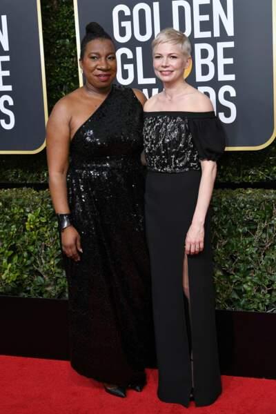 Michelle Williams lors de la 75e cérémonie des Golden Globes, le 7 janvier 2018