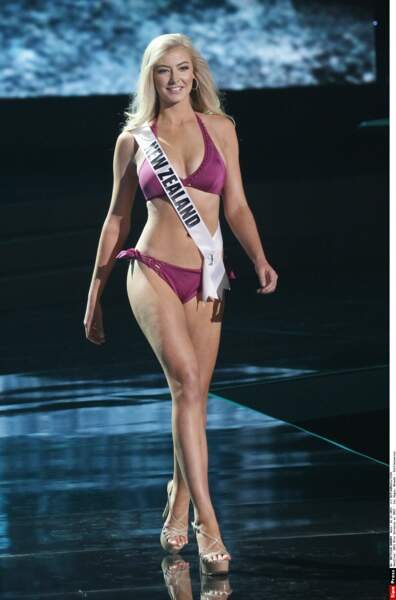 Miss Nouvelle-Zélande, Samantha Sarah Lesley McClung