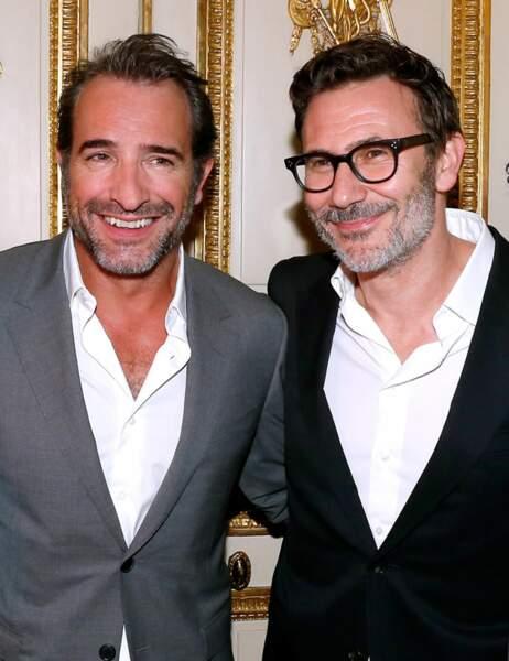 Jean Dujardin et Michel Hazanavicius