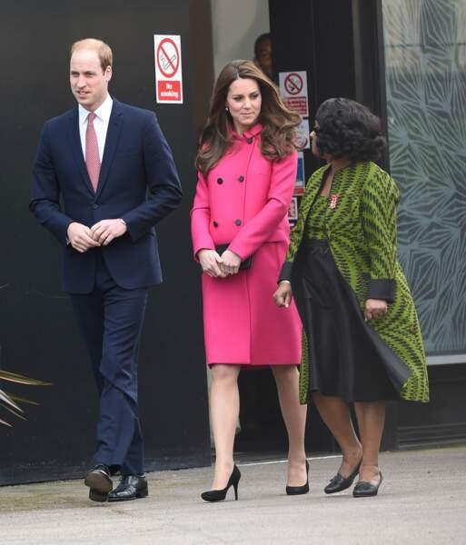 La duchesse de Cambridge montre toujours de l'intérêt pour les causes caritatives