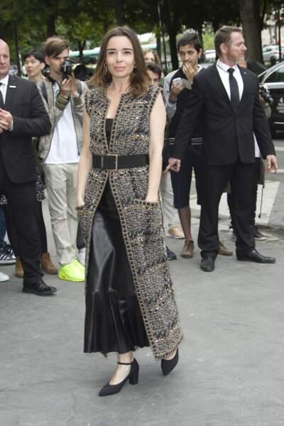 Défilé Chanel Haute Couture : Elodie Bouchez