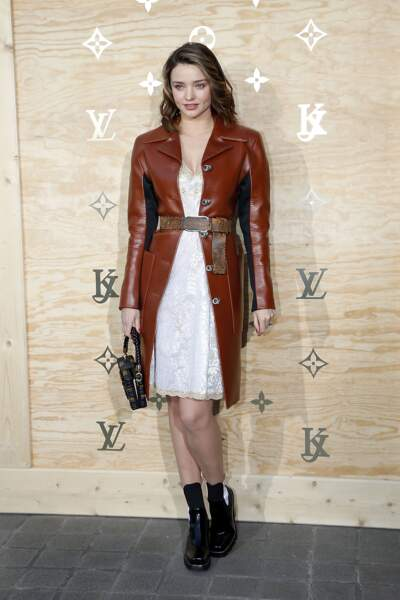 Soirée Louis Vuitton x Jeff Koons au Louvre : Miranda Kerr
