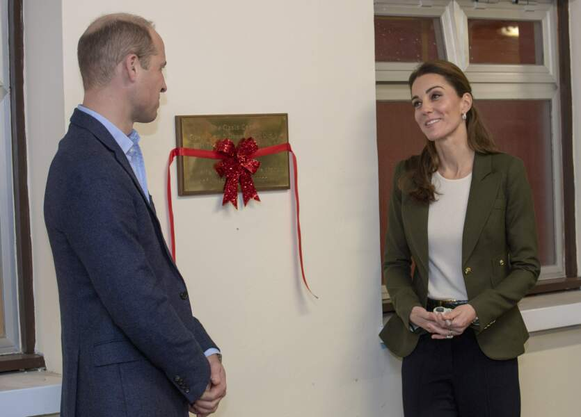 Et Kate Middleton devant son prince charmant