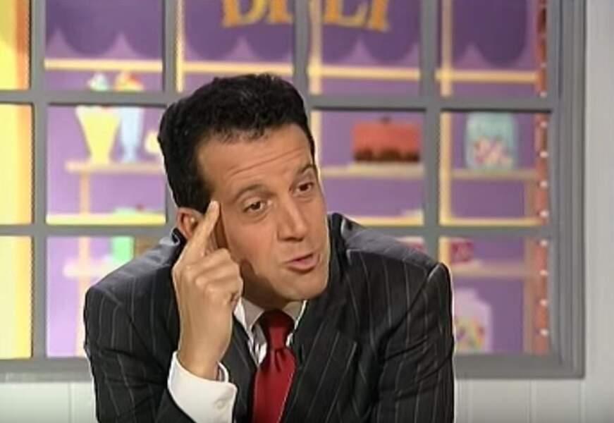 Philippe Dana dans les années 90