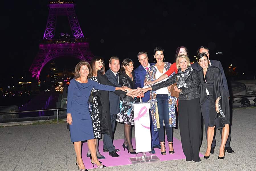 L'illumination de la Tour Eiffel